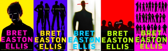Bret Easton Eliis book covers