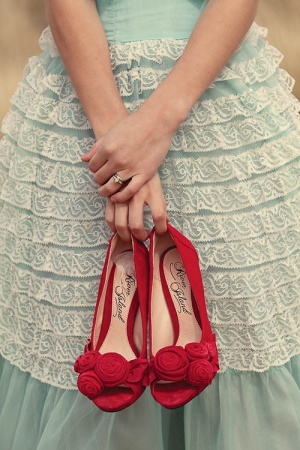 My red shoes looked nothing like these!