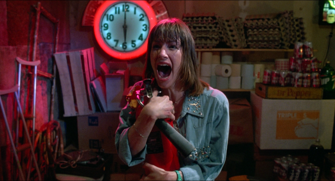 Final Girl Friday: Stretch, The Texas Chainsaw Massacre 2 (1986)