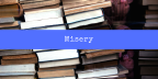 Misery (Book) Review
