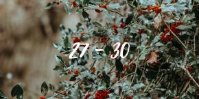 A Voluptuous Advent – Doors 27 –30